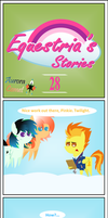 Equestria's Stories - 28 (Aurora Comet) by Zacatron94