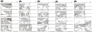 Practice storyboarding Legend of Korra by kelbykross