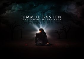 Ummul Baneen - The Symbol Of Patience by rizviGrafiks