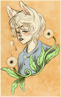Dandelions by TotemEye