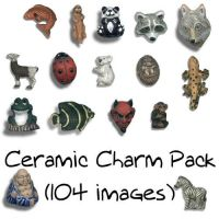 Ceramic Charm Pack by Sage-Dreamer