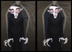 Count Orlok 3D by WonderDookie
