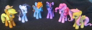 My Little Pony custom pony mane and tail set. by LilMisteek