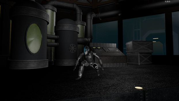 Space Terror Detail by uemeu-official