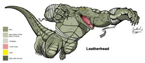 Leatherhead Color Sheet by Ninja-Turtles