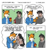 Life In Furry Hell by nauv