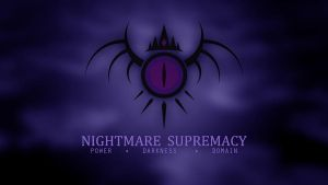 Nightmare Supremacy Wallpaper (1360x768) by Moonlight-Pen