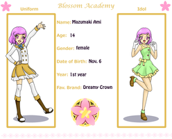 Blossom Academy App Ami by TheLocked