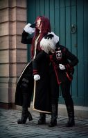 D. Gray Man  - Allen and Cross by AtunaCosplay