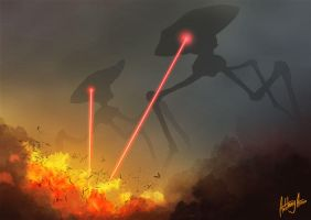 Attack of the Tripods by AnthonyAvon