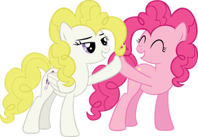 Surprise/Pinkie Brohoof by Jerick