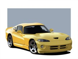 Dodge Viper by bigboss1