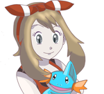 ORAS May and Starter by CrackFox91