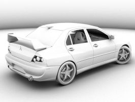 Evo 9 Occlosion test3 by rutherCordova