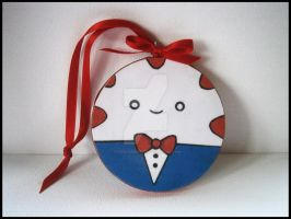 peppermint butler wall hanging by thepapermaker