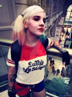 Harley Quinn Suicide Squad cosplay by SofiJunkhead