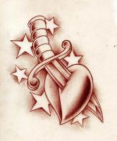 heart knife by WillemXSM