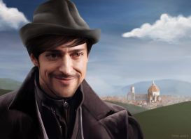 Count Girolamo Riario (Da Vinci's Demons) by ynne-black