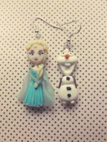 Elsa Frozen Earrings by M-Made