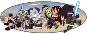 Star Chibi Wars by DaGreatVincE