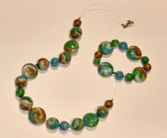 Ocean's jewelry by Cassiopeeh