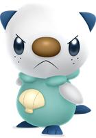 Tough Oshawott by ryanthescooterguy
