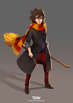 Harry Potter by ChonnalisaArt