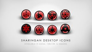 HQ Sharingan Desktop Icons by yuffie