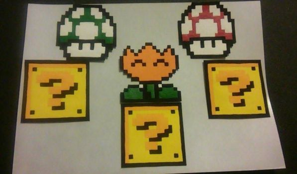 Mario Magnets by GumdropGear