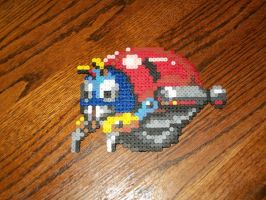 Moto Bug from Sonic 1 by EternalBarrel