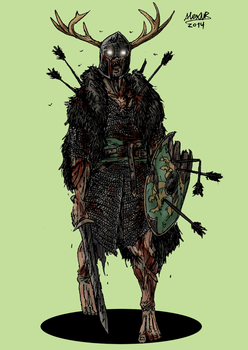 Undead Warrior by Shabazik