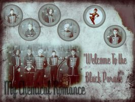 Wallpaper My Chemical Romance 1 by MissKettyDesigns
