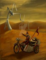 Don Quixote by Hide1976