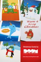 Christmas card series by DoomCMYK