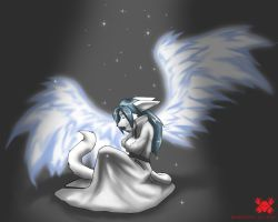 lonely Angel by RedWolfXlll