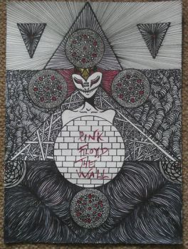 Pink Floyd The wall by DekaHussein
