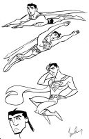 Superboy rough by SpawnofSprang