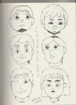 Characters by SketchyCAM