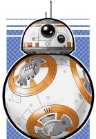 BB-8 Droid by Thuddleston