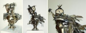 Clock chicken by Muti-Valchev