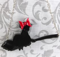 Kiki's Delivery Service necklace by TrenoNights