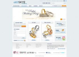 Jewelry online shop by LETSOC