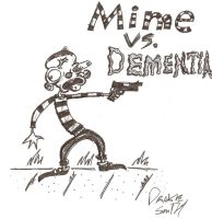 Mine vs. Dementia by CHICK3NFOOT