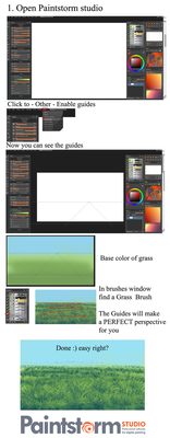 MOST EASY Grass tutorial ever by ryky