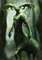 Forest God by Mac-tire