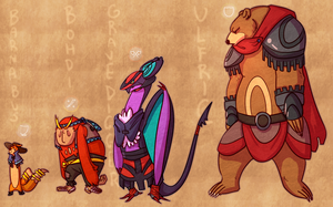 GBU -- Lenina's RPG Party by static-mcawesome