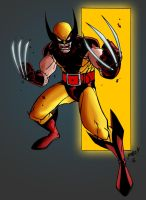 Jonboy's Wolverine - Coloured by Deathring2000