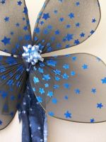 Blue Star party wings Child by KimsButterflyGarden