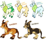 CHEAPER weird hybrid monster adoptables by fqs