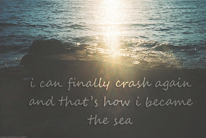 How I Became the Sea by Mon-Papillon